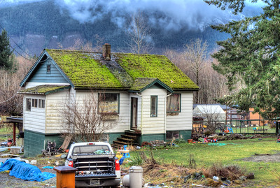 Old Home - Vancouver Island BC Canada