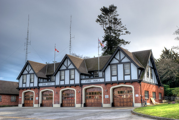 Oak Bay Fire Hall - Victoria BC Canada