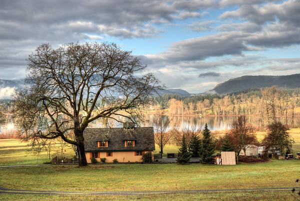Old Farm Home - Lake Quamichan, BC, Canada